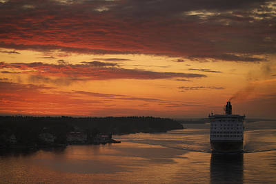 Photograph - Cruise Ship In Sweden Mg_3860 by David Orias