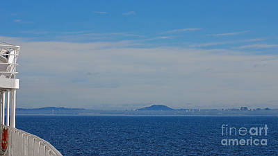 Photograph - Cruise Ship Nearing Victoria by Connie Fox
