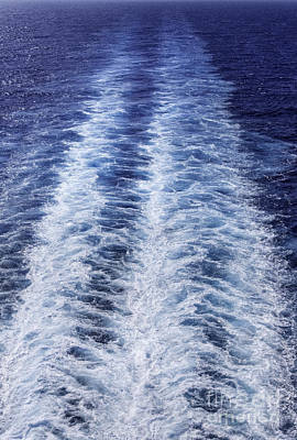 Photograph - Cruise Ship Trails by Glenn Gordon