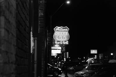Photograph - Cruiser's Cafe 66 by John Schneider