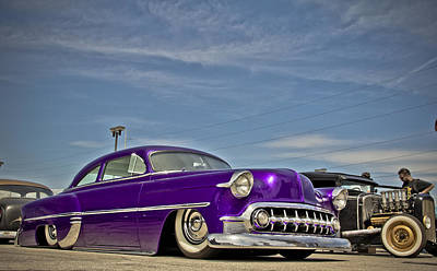 Photograph - Cruisin 53 by Merrick Imagery