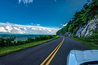Photograph - Cruisin The Parkway by Randy Scherkenbach