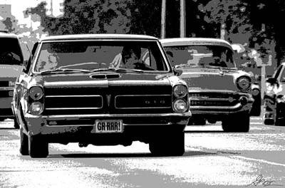Photograph - Cruisin' Woodward by Gordon Dean II