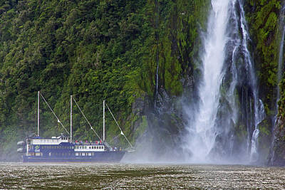 Photograph - Cruising By A Waterfall by Stuart Litoff