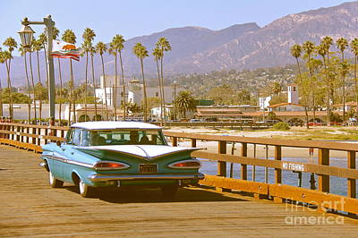 Photograph - Cruising Santa Barbara by Suzanne Oesterling