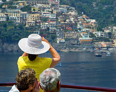Photograph - Cruising The Amalfi Coast by Keith Armstrong