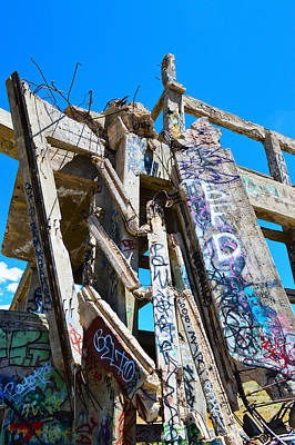 Photograph - Crumbling American Flats  by Brent Dolliver