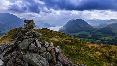 Aromatherapy Oils Royalty Free Images - Crummock Water From Low Fell Royalty-Free Image by Steven Garratt
