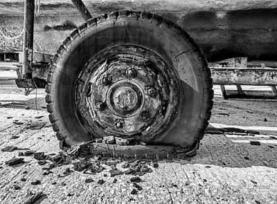 Photograph - Crusty - Bw by Christopher Holmes