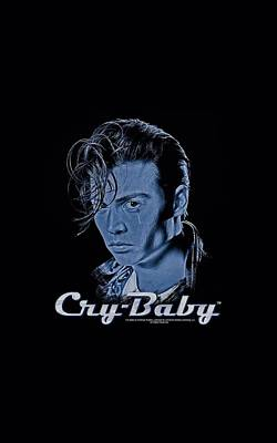Johnny Depp Digital Art - Cry Baby - King Cry Baby by Brand A