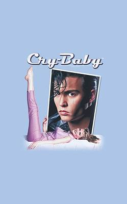 Johnny Depp Digital Art - Cry Baby - Title by Brand A