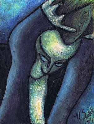 Crying Woman Art Print by Kamil Swiatek