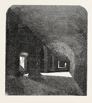 Crypt Discovered Under The Deanery House Art Print