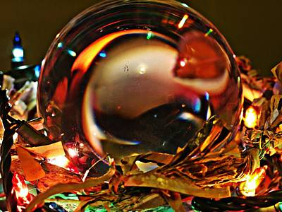 Photograph - Crystal Ball Project 16 by Sarah Loft