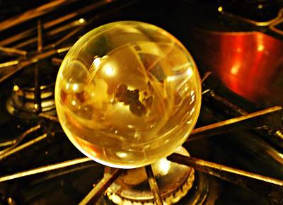 Photograph - Crystal Ball Project 3 by Sarah Loft