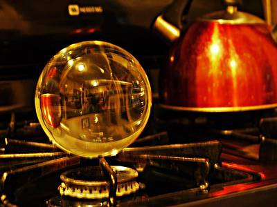 Photograph - Crystal Ball Project 4 by Sarah Loft