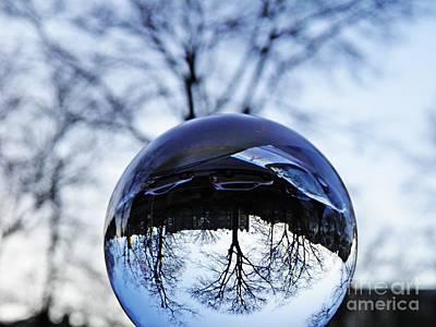 Crystal Ball Project 59 Print by Sarah Loft