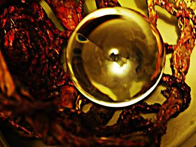 Photograph - Crystal Ball Project 76 by Sarah Loft