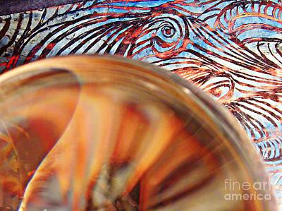 Crystal Ball Project 83 Original by Sarah Loft