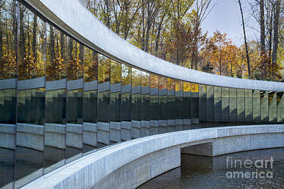 Museum Of Modern Arts Photograph - Crystal Bridges by Elena Nosyreva