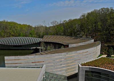 Photograph - Crystal Bridges Museum Of American Art Buildings by Kirsten Giving