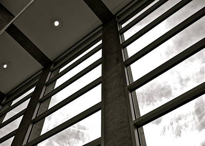 Photograph - Crystal Bridges Museum Windows by Kirsten Giving