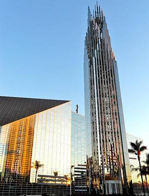 Photograph - Crystal Cathedral by Benjamin Yeager