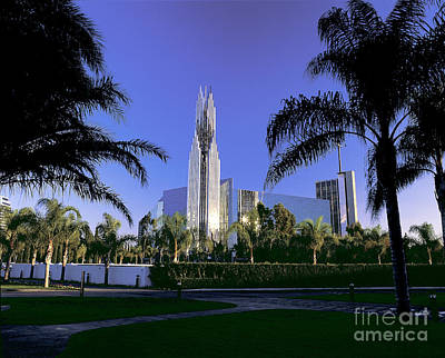 Crystal Cathedral Print by Jim Corwin