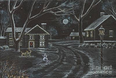 Stonewall Painting - Crystal Christmas by Margaryta Yermolayeva