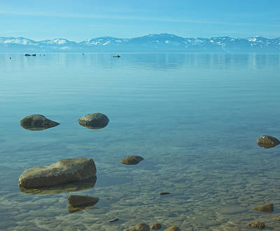 Crystal Clear Lake Tahoe Art Print by Kim Hojnacki