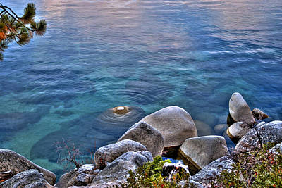 Photograph - Crystal Clear Sand Harbor by William Havle