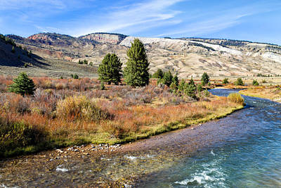 Photograph - Crystal Creek In The Gros Ventre by Kathleen Bishop