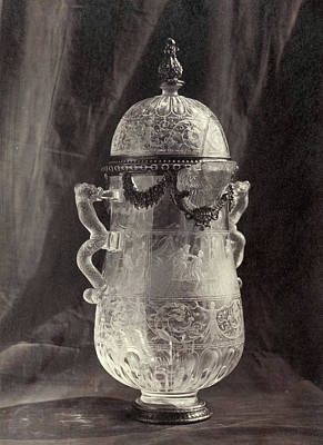 Louvre Drawing - Crystal Engraved Can, From The Louvre, Charles Thurston by Artokoloro