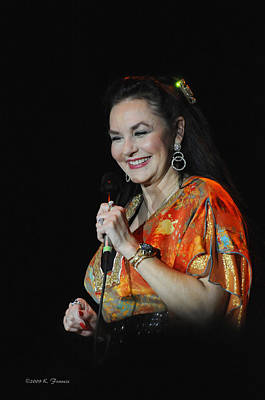 Crystal Gayle Print by Kenny Francis