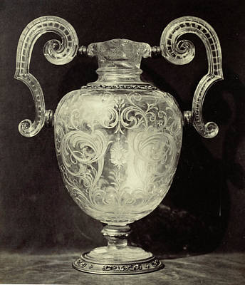 Louvre Drawing - Crystal Jug, Engraved, From The Louvre, Charles Thurston by Artokoloro
