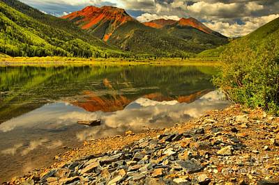 Photograph - Crystal Lake Reflections by Adam Jewell