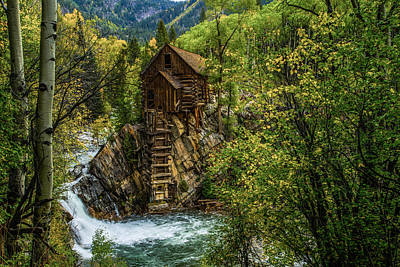 Mining Photograph - Crystal Mill Co by Peter Irwindale