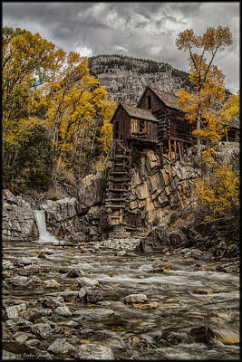 Photograph - Crystal Mill by Erika Fawcett