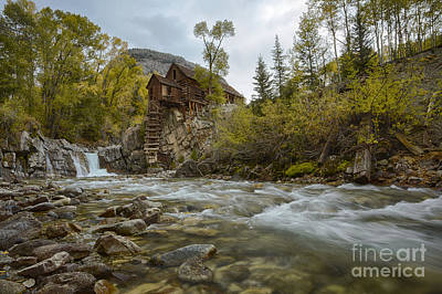 Photograph - Crystal Mill by Idaho Scenic Images Linda Lantzy