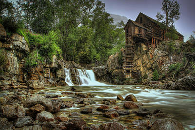 Ghost Town Photograph - Crystal Mill   by Ryan Smith