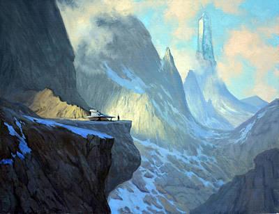 Cabrera Painting - Crystal Monolith by Armand Cabrera