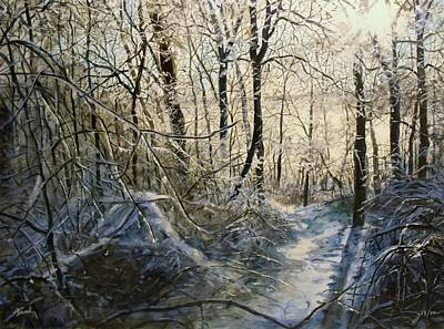 Painting - Crystal Path by William Brody
