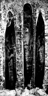 Photograph - Crystal Pillars by Brad Brizek