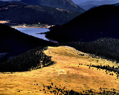 Jerry Sodorff Royalty-Free and Rights-Managed Images - Crystal Reservoir 11090 by Jerry Sodorff