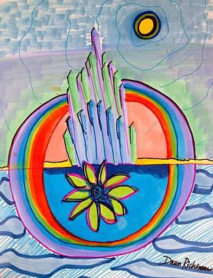 Crystal City Rising Art Print