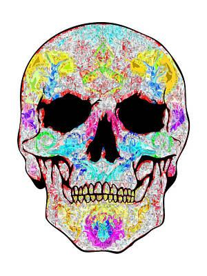 Crystal Skull Art Print by Mauro Celotti