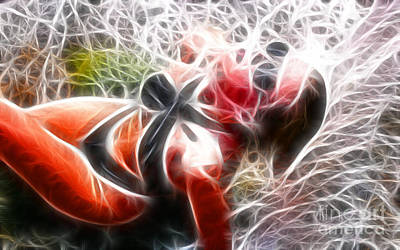 Crystal Sling 2 Fractal Art Print by Gary Gingrich Galleries