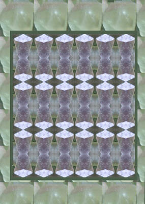 Painting - Crystal Stone Art Graphics And Background Patterns On Faa Products Or Download For Self-printing    by Navin Joshi