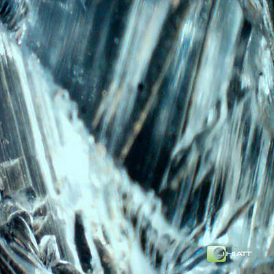 Digital Art - Crystal Structure by Justin Hiatt
