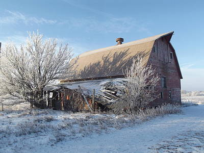 Crystaline Barn Art Print by Bonfire Photography